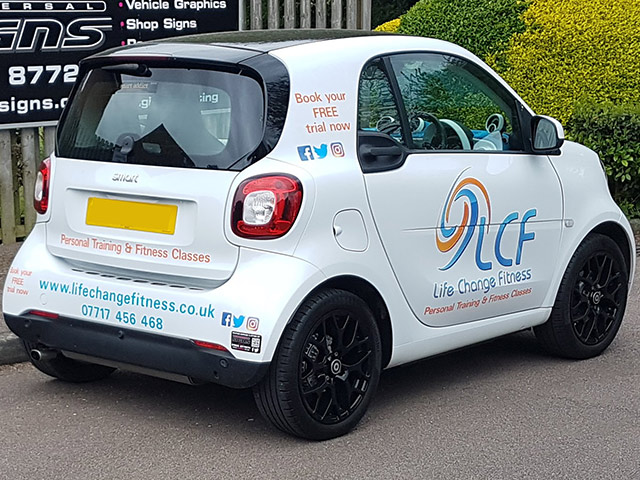 Vehicle Graphics From Universal Signs Stanstead Abbotts Ware
